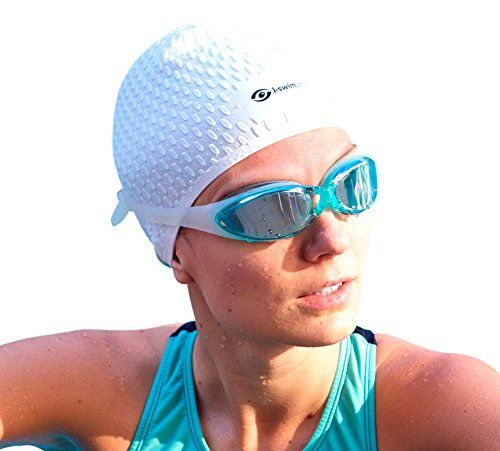 i-Swim Pro Swimming Caps - Plus FREE Nose Clip + Ear Plugs - Comfortable - Stays In Place - Strong Silicone - Increases Speed - Best Swim Hats For Protecting Long, Thick And Short Hair - http://fitness-super-market.com/?product=i-swim-pro-swimming-caps-plus-free-nose-clip-ear-plugs-comfortable-stays-in-place-strong-silicone-increases-speed-best-swim-hats-for-protecting-long-thick-and-short-hair