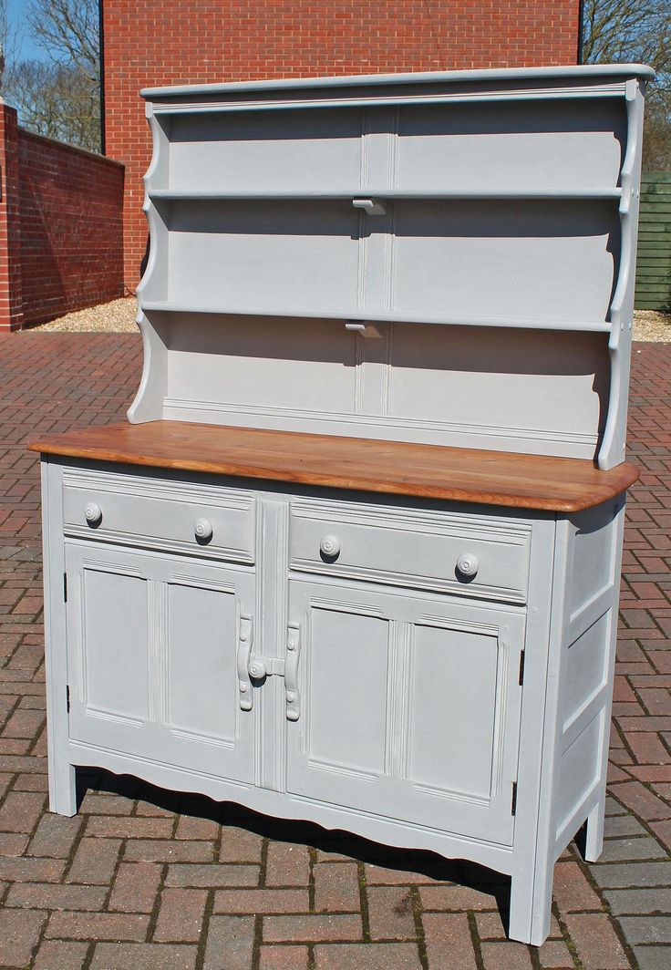 Vintage Ercol Dresser painted with Frenchic chalk and mineral paint
