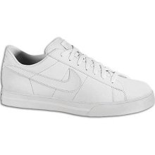 Nike Sweet Classic Leather Shoe Men's White/White                                            What's old is new again with the Nike Sweet Classic Leather casual shoe. Time-tested styling, comfort and performance make this one of the most wearable pairs of shoes you'll own. Made with a perforated leather upper and cushioned rubber outsole. Non-removable insole. Wt. 15.5 oz.  $64.99 Foot Locker