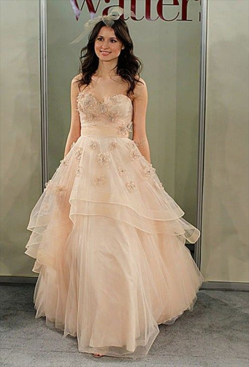 17 Best images about BLUSH weddingdresses on Pinterest | Blush ...