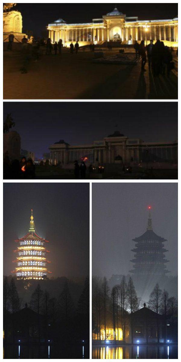Площадь Сухэбатора в Монголии засияла в новом светодиодном свете
