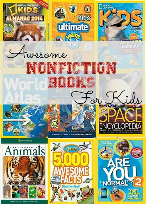 A List Of Great Nonfiction Books For Kids And A Giveaway For A