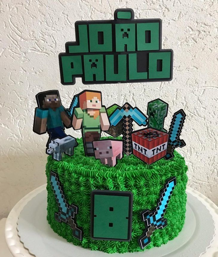 Easy minecraft cake easyminecraftcake cake tutorial lego