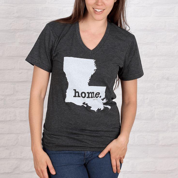 Louisiana Home V-neck