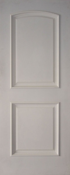 2 panel arched top white primed with moulding 4 one 18x80 one 27x80 two 28x80 one 30x80 for 2 panel arch top interior doors
