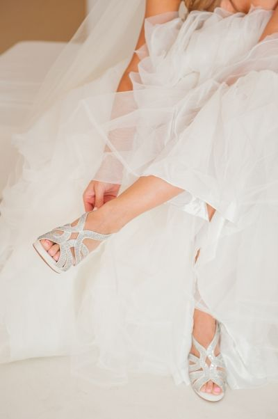 Bridal shoes from real bridal preparation. Follow us for more wedding ideas at www.photographergreece.com