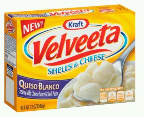 Velveeta Shells & Cheese / Queso Blanco (2-12oz Boxes) Creamy Cheese Sauce