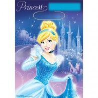 Cinderella Loot Bags Pkt8 $3.95 A370664
