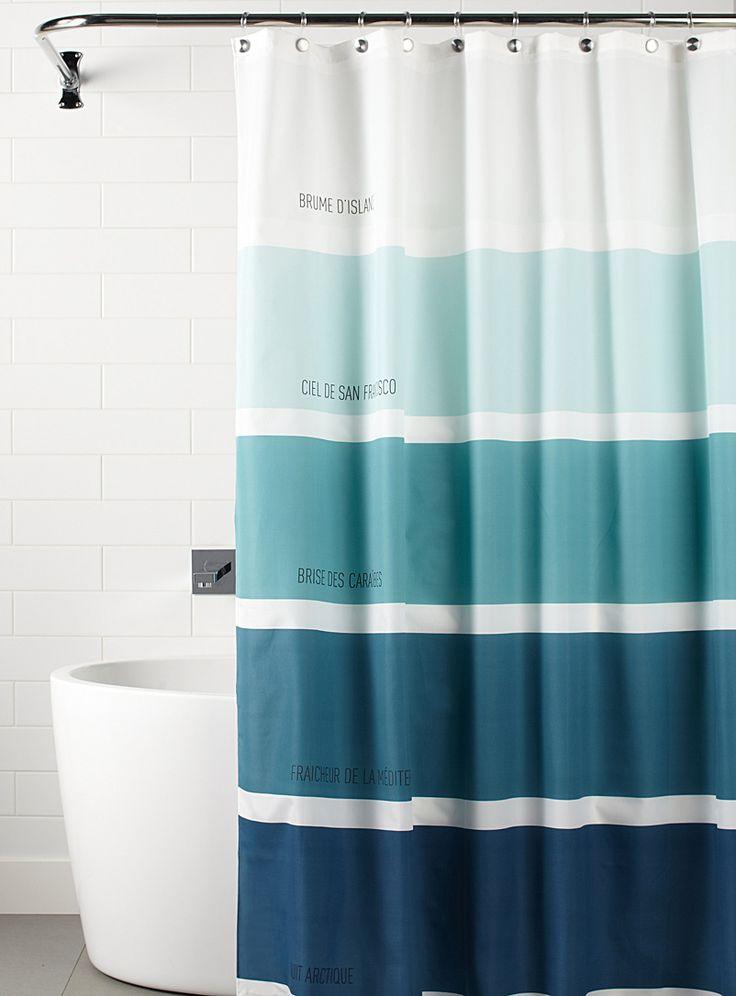 les 25 meilleures id es de la cat gorie rideaux de douche d 39 poque sur pinterest rideaux de. Black Bedroom Furniture Sets. Home Design Ideas