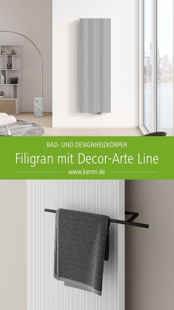 Filigran Mit Decor Arte Line Design Heizkorper Aluminium Inneneinrichtung