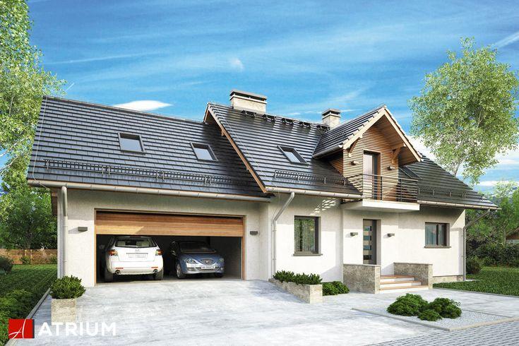 ASTRA III – z dwustanowiskowym garażem. Na pierwszy plan wysuwa się stonowana architektura z efektownym ryzalitem na elewacji frontowej. W parze z architekturą idzie przemyślana funkcja. Dom, w którym może cieszyć się komfortem 4 lub 5 osobowa rodzina.