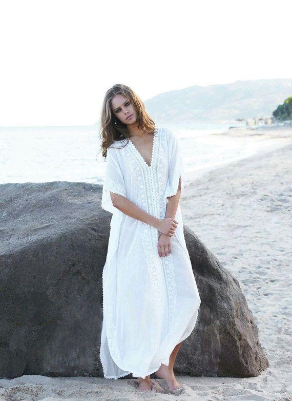 white kaftan long maxi gown ethnic india by monasindianheritage