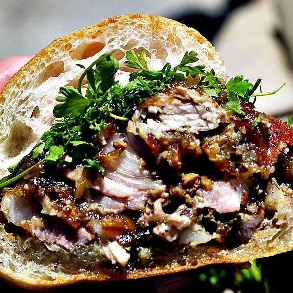 Porchetta Sandwich @ Porchetta | Yummy Sandwiches! | Pinterest