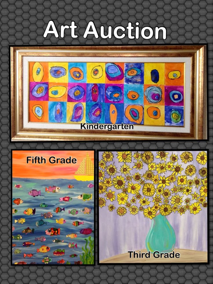 Classroom Art Ideas ~ Images about a r t auction on pinterest school