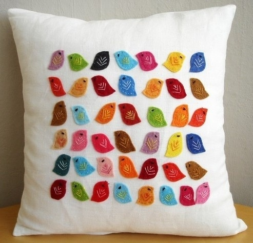 cute diy pillow by lula