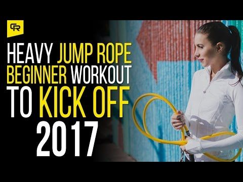 New Year Heavy Jump Rope Workout for Beginners | Crossrope Jump Rope Training Blog
