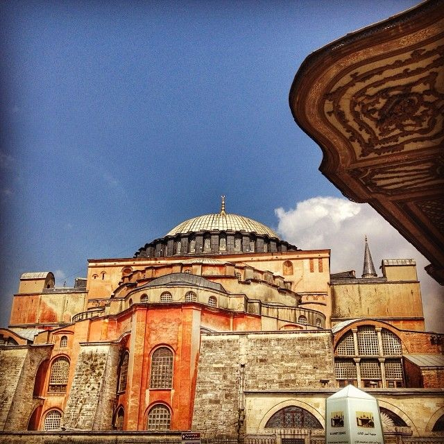 The Hagia Sofia in #Istanbul is another sacred site not to be missed. Photo courtesy of pamdurant on Instagram