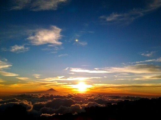 Sunset mt.Sindoro