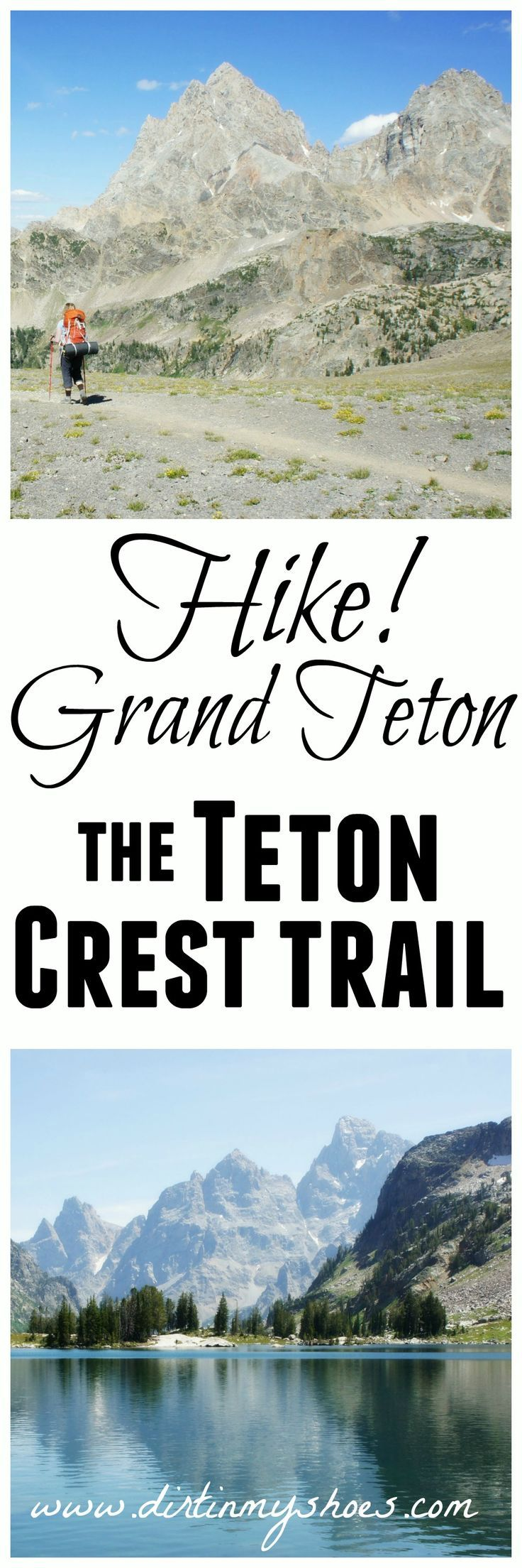 This spectacular hike along the Teton Crest Trail is the best way to see Grand Teton National Park!  You will LOVE this trail.  Tips written by a former park ranger!
