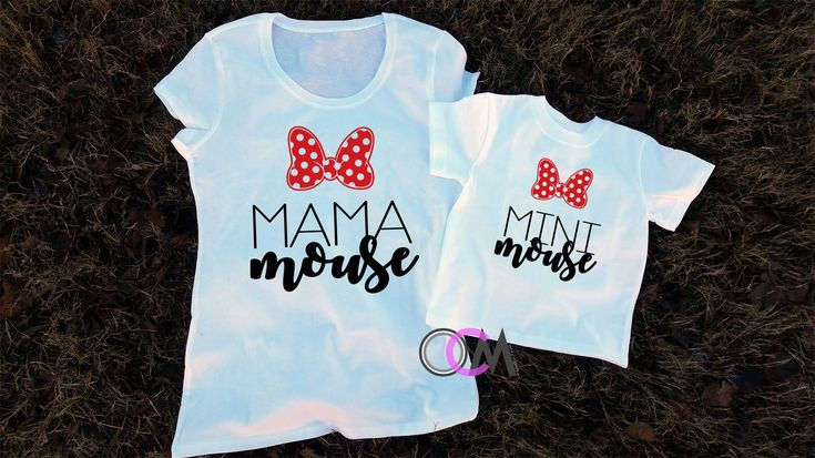 Mama Mouse Mini Mouse,Matching Mom and Me Disney Shirts, Mama & Me Shirts, Mommy and Me, Toddler Girl Shirt, Mom Shirt, Matching Shirts by 1OneCraftyMomma on Etsy