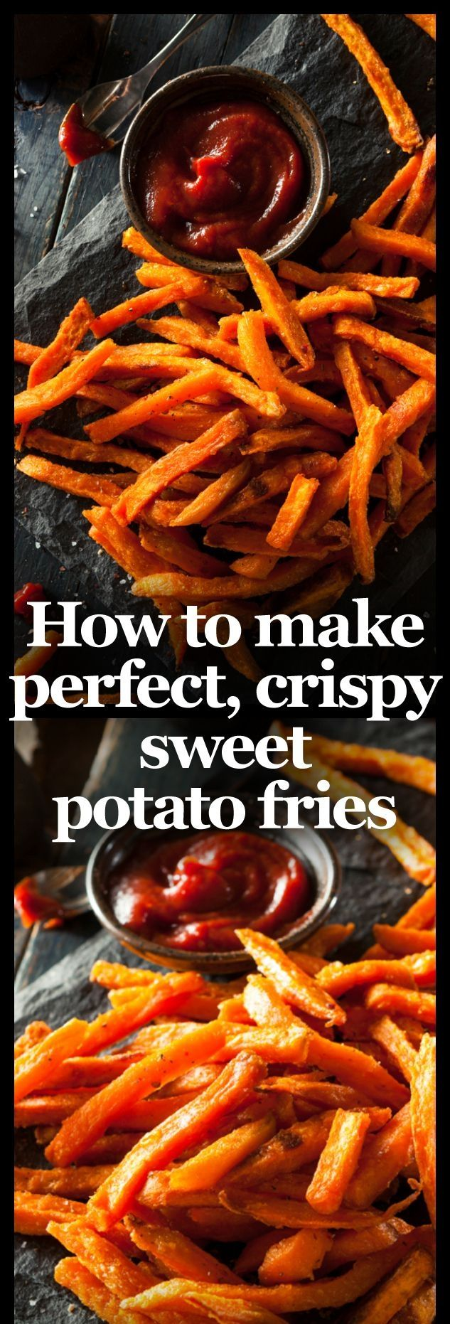 There's no denying that sweet potato fries are one of the tastiest ways to eat! Here's the perfect recipe to get the best results!