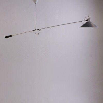 Located using retrostart.com > Counter Balance Ceiling Lamp by J. Hoogervorst for Anvia Almelo