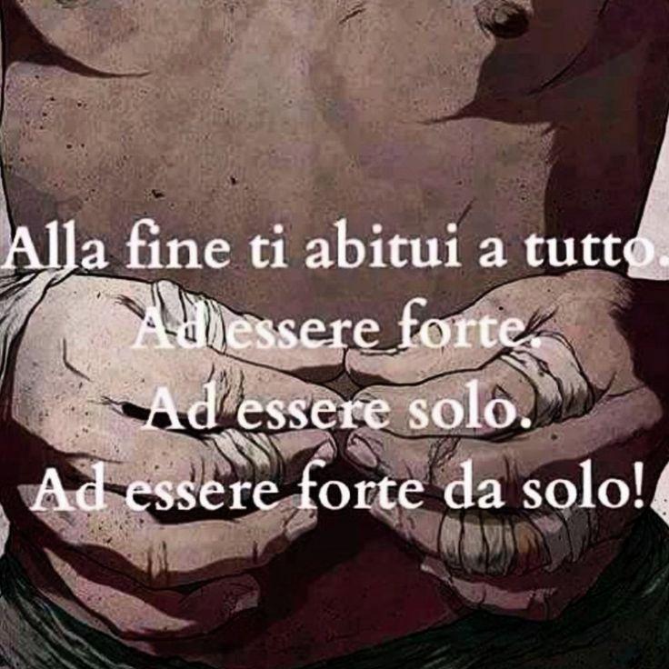"""#frasi #pensieri #parole #verità """"Da sola"""""""