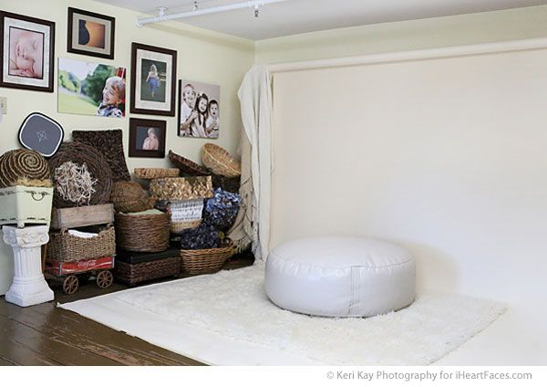 wish I had something like this!!!!  Beautiful in-home Photography Studio Tour! Keri Kay Photography via iHeartFaces.com