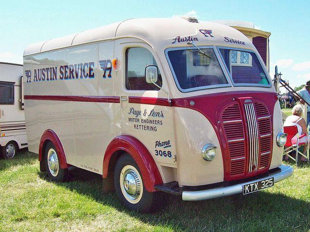 170 austin k4 van 1951 by robertknight16 via flickr vintage british motor vehicles. Black Bedroom Furniture Sets. Home Design Ideas