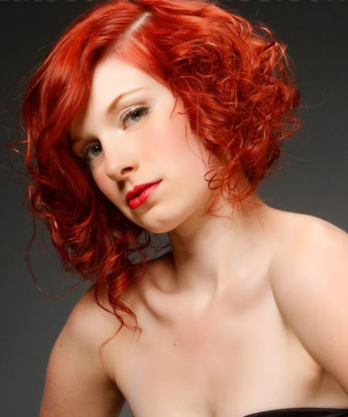 Stupendous Curly Bob Hairstyles Curly Bob And Bob Hairstyles On Pinterest Hairstyles For Women Draintrainus