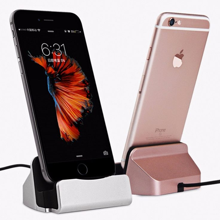 Original Sync Data Charging Dock Station Cellphone Desktop Docking Charger USB Cable For Apple iPhone 5 5S  6s 6Plus 7  Micro   -- Find out more by clicking the VISIT button