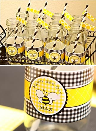 Fabulous Features by Anders Ruff Custom Designs: What's the Buzz All About? A Happy Bee Day!