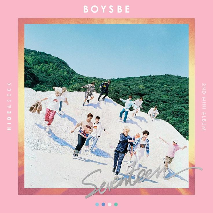 """SEVENTEEN 2nd Mini Album 'BOYS BE' -- Okay so idk who hasn't heard the whole album yet, but it's sO GOOD!! I'm so happy they put """"Omg"""" on this album. My only question is where is """"No F.U.N"""" and """"Hello"""" from SEVENTEEN PROJECT."""