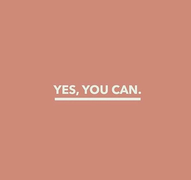 Despite what others say to demotivate you, you'll succeed if you believe that you can.
