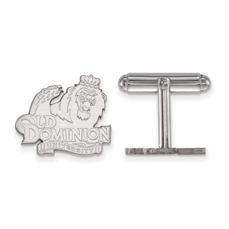 Sterling Silver LogoArt Old Dominion University Cuff Link