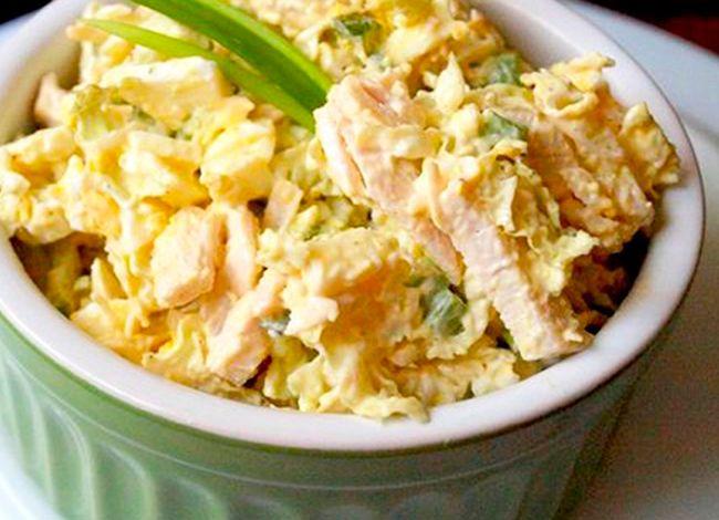 Аппетитный салат, в котором всего 77 калорий - МирТесен