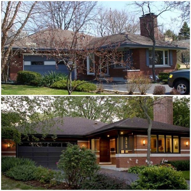 Mediterranean Style Home With Fantastic Curb Appeal: Ranch Curb Appeal Before And After