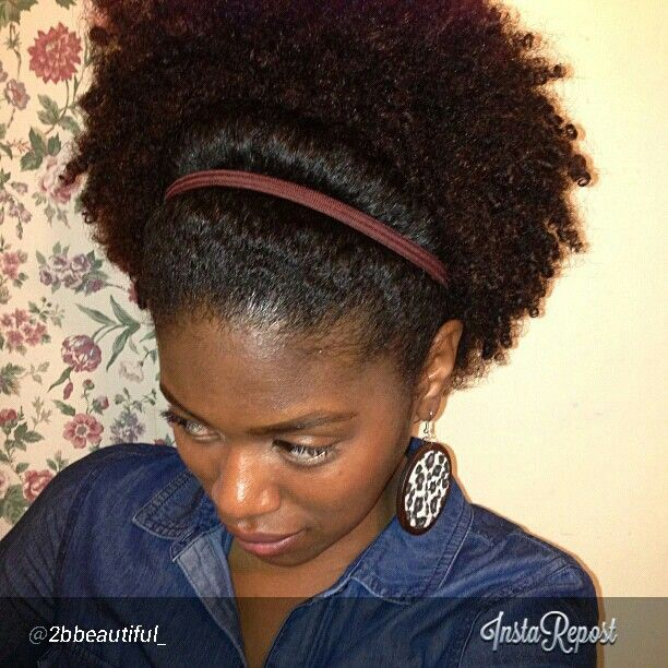 Hairstyles For Curly Hair Tied Up : 171 best natural hair styles and care images on pinterest