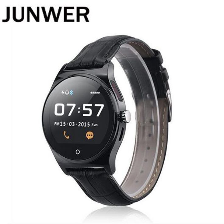 JUNWER Bluetooth Smart Watch R11 Sport Clock Smartwatch Heart Rate Monitor Anti-Lost Men Women Watches for Android Apple Watch //Price: $69.42 & FREE Shipping //     #Cheapprice