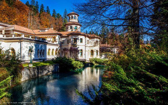 Foisor Castle. Royal Estate of Sinaia