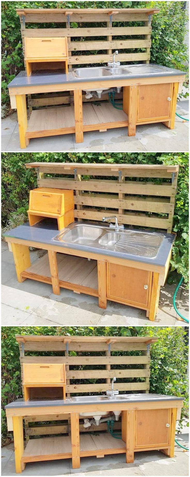 DIY Ecstatic Home Refurbishing mit Holzpaletten