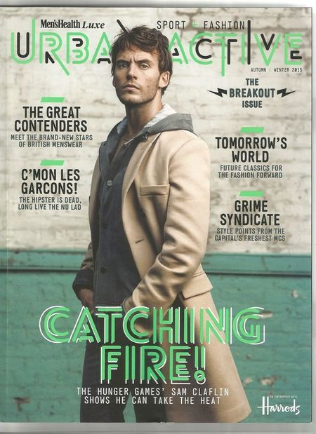 Panem Propaganda - The Hunger Games News - Sam Claflin on Finnick, Fitness, and His Upcoming Films for Men's HealthMagazine