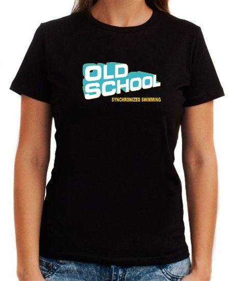 Old School Synchronized Swimming Women T-Shirts