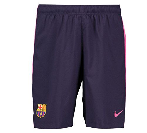 4ee9ad7d2c 2016-2017 Barcelona Away Nike Football Shorts Purple (Kids)  Barcelona Away  KIDS