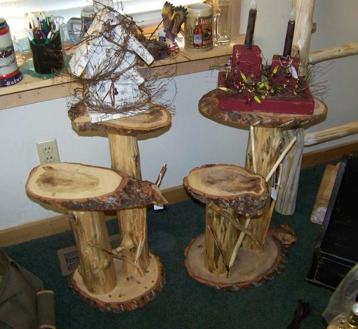 Plant Stands, 2 tier