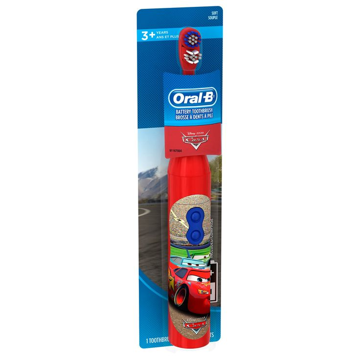 Oral-B Kid's Battery Power Toothbrush featuring Disney & Pixar's Cars - 1ct