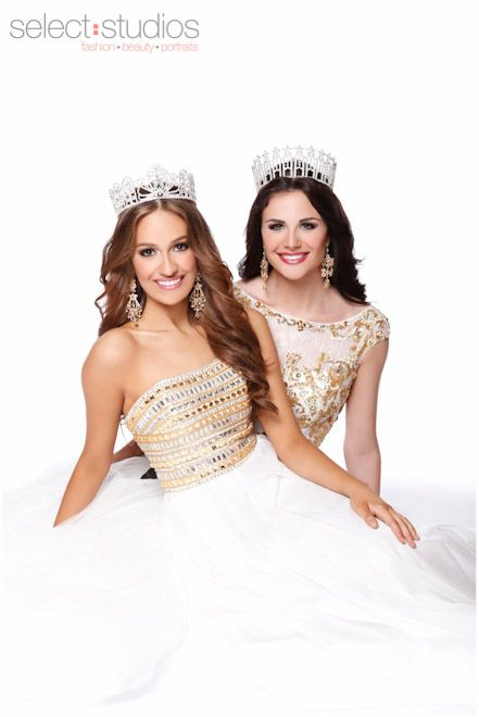Miss Texas Teen USA 2013 Daniella Rodriguez and Miss Texas USA 2013 Ali Nugent - Select Studios Photography