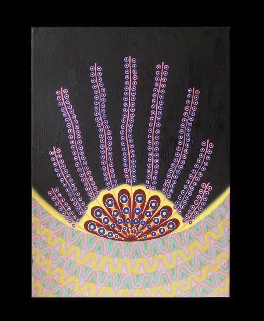#47   Artist: Vitali Zelinski   Title: Flower 11   Medium: Oil on Canvas   Dimensions: 16 in x 12 in