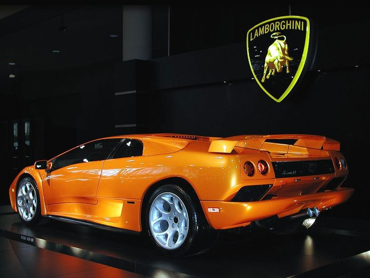 orange lamborghini diablo | Car Sports Lamborghini