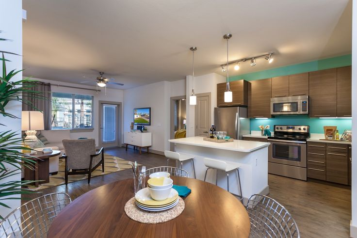 Dining room at camden chandler apartments in chandler - 3 bedroom apartments chandler az ...